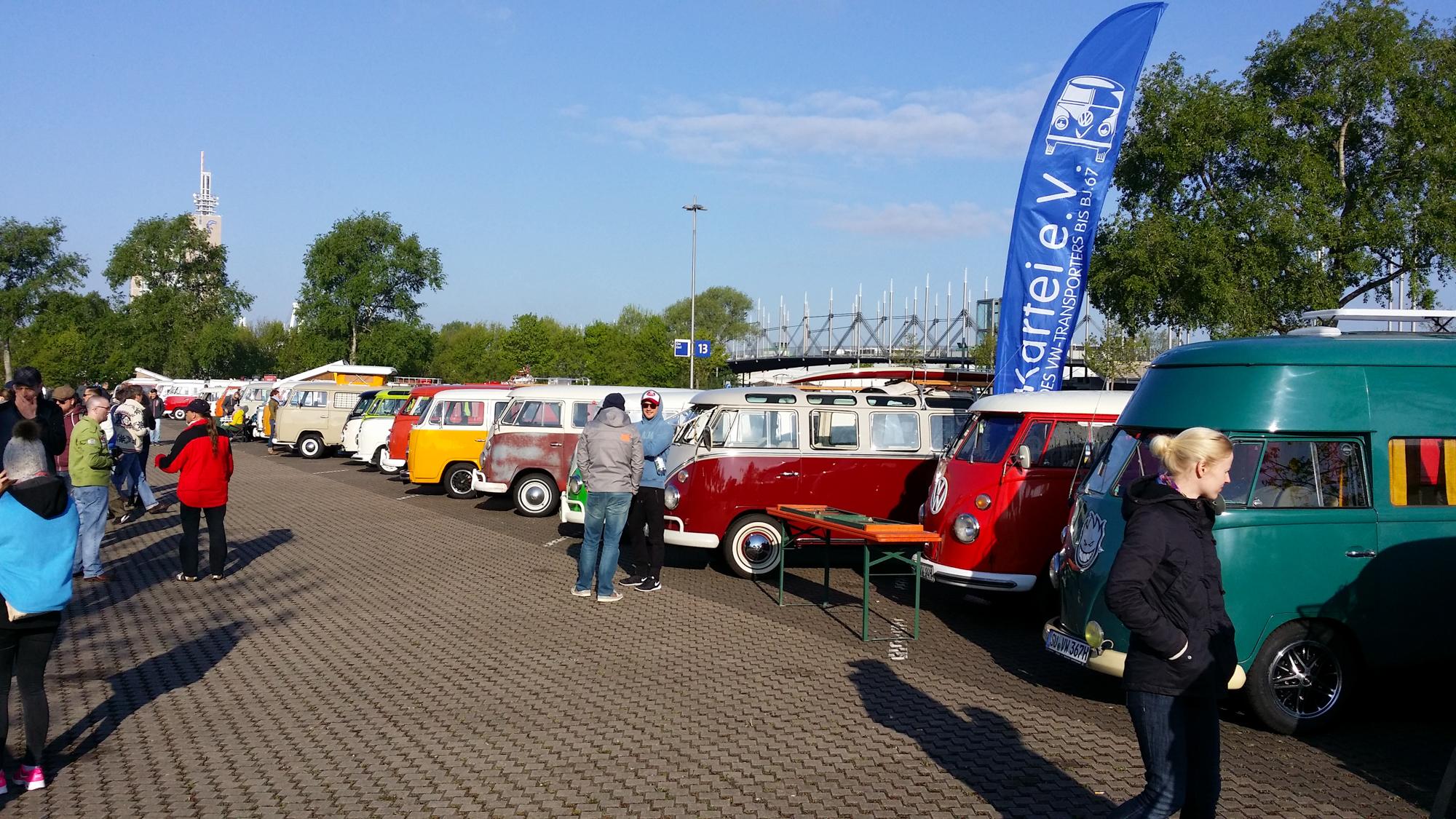 Vor allem der beliebte Käfer war beim VW-Treffen zahlreich vertreten ...
